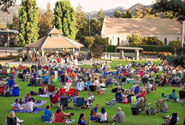 Music in the Park. Photo courtesy of La Canada Flintridge