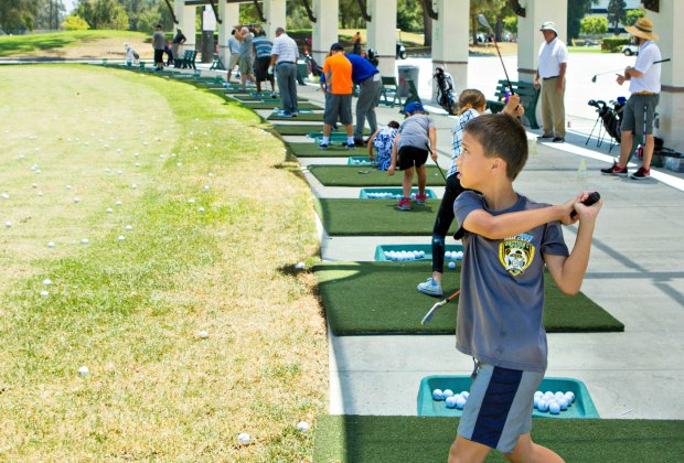 The Los Angeles County Junior Golf Program might make a golf pro out of your kid. Photo by David England Photography