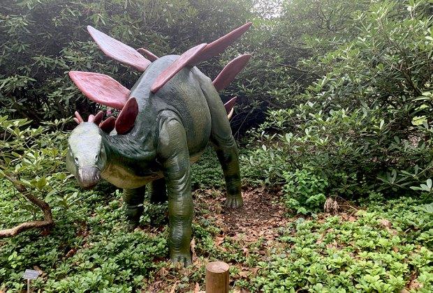 Lasdon Park's Dinosaur Garden