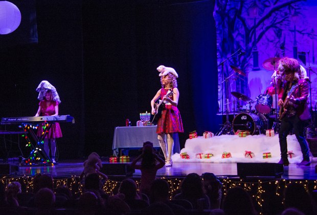 Sing along with the Laurie Berkner Band at bergenPAC on Sunday. Photo courtesy of the band