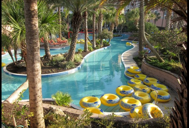 Lazy River at Hammock Beach Resort