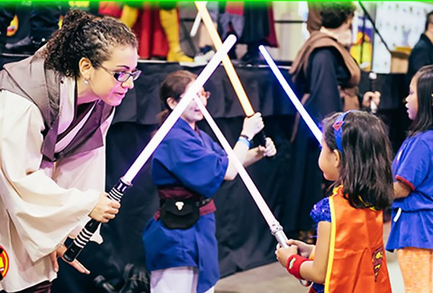 Learn new Jedi skills at Eternal Con. Photo courtesy of the event