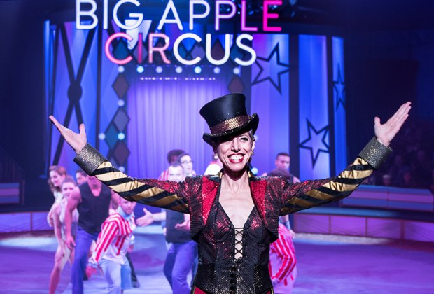 Ringmaster Stephanie Monseau leads the jaw-dropping circus.