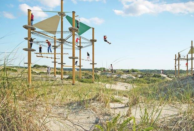 Imagine a thrill-seeker's paradise in the heart of Jones Beach.