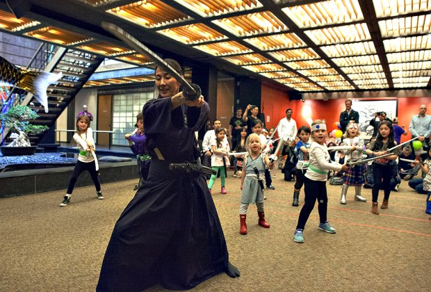 Children's Day programming at Japan Society includes awesome workshops for kids.