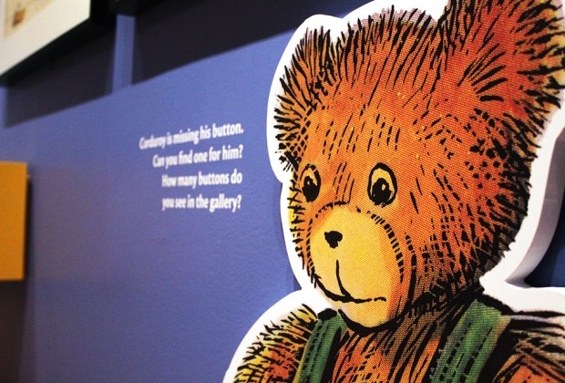 The beloved bear of Don Freeman's classic children's books, Corduroy, has his own museum exhibit.