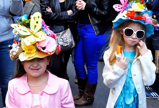 Participate in or just gawk at the Easter Parade on 5th Avenue. Photo by Michael Fleshman via Flickr