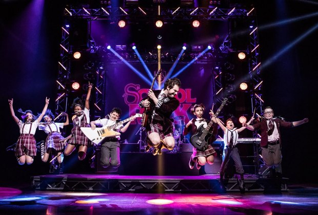 Catch the energetic School of Rock - The Musical. Photo by Matthew Murphy