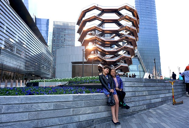 Climbing The Vessel might be the most obvious attraction at Hudson Yards, but there are plenty of other things to do to keep kids busy.