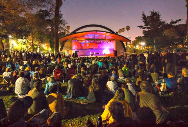 Levitt LA Concert Series in MacArthur Park. Photo courtesy of Levitt Foundation