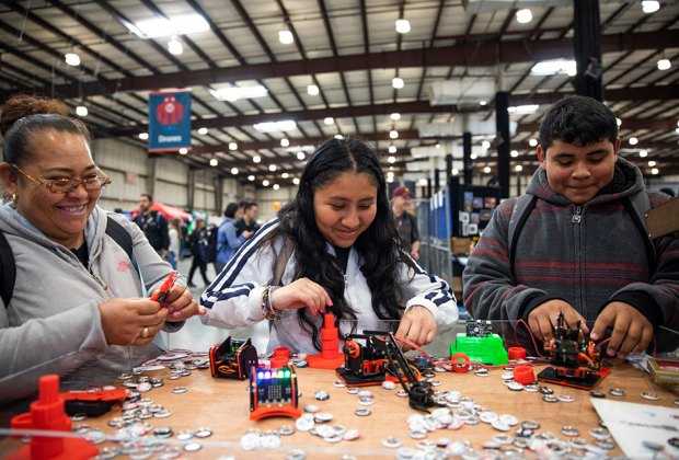 The Eastern Long Island Mini Maker Faire is one of the largest gatherings of young inventors in the area. Photo courtesy of the faire
