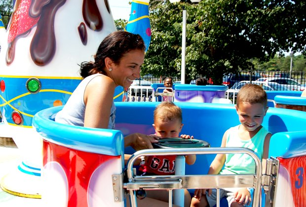 Adventureland's rides and attractions are sure to amuse your preschooler. Photo courtesy of Adventureland Amusement Park