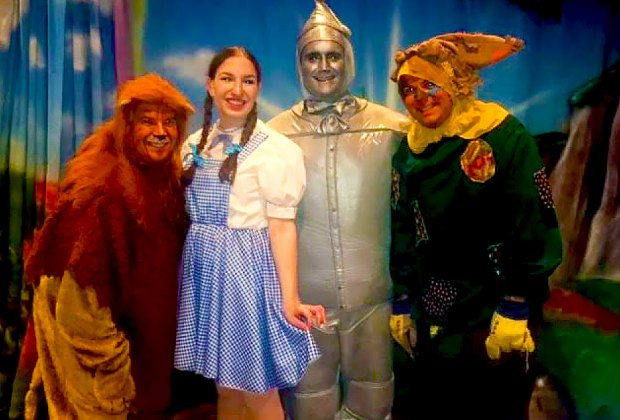 Enjoy the time-honored classic The Wizard of Oz at the Plaza Theater. Photo courtesy of Plaza Theatrical Productions