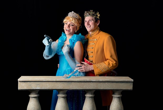 Thrill to Cinderella at The Showplace at Bellmore Movies. Photo courtesy of the production