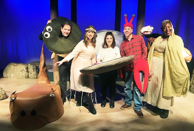 Join Clammy the Clam in a musical adventure at the Long Island Children's Museum. Photo courtesy of LICM