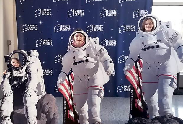 Be an astronaut at the Liberty Science Center. Photo by Karen Turner