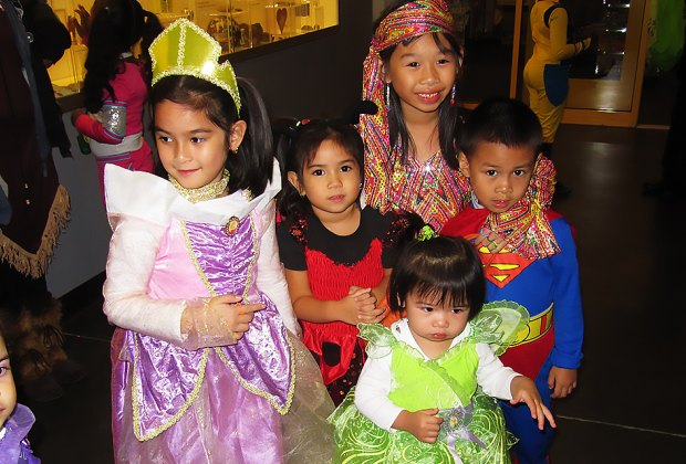 Design a costume and thrill to the Ghostly Gala at the Long Island Children's Museum. Photo courtesy of the museum