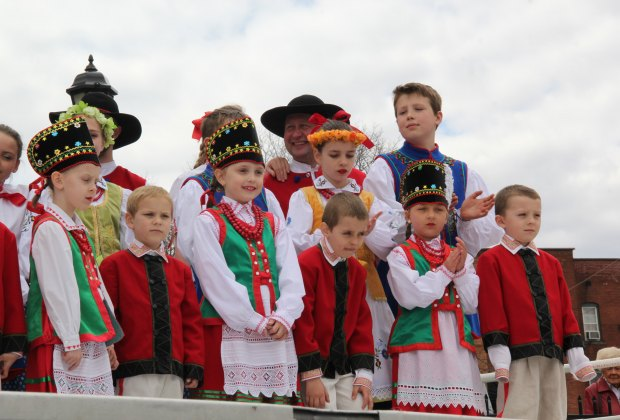 Kids are a big part of the cultural festivities around town. Photo courtesy of Little Poland Festival