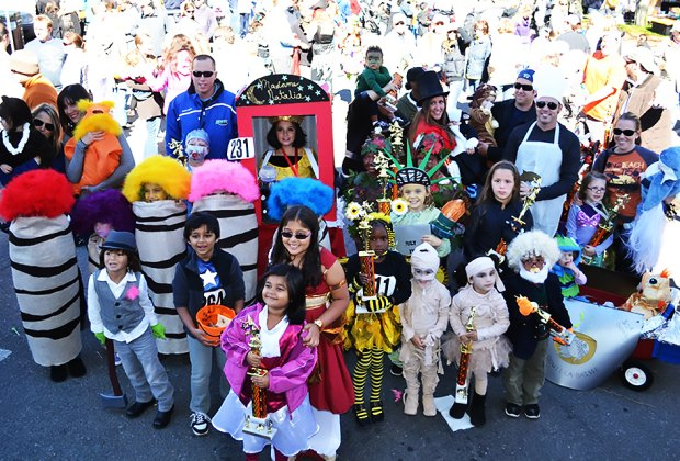 Kids delight in the Long Beach Costume Parade, held about two weeks before Halloween. Photo courtesy of the City of Long Beach