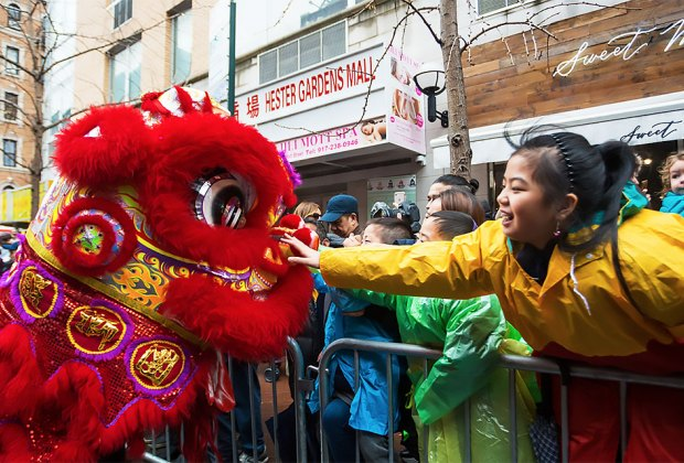 Lunar New Year Parade. Photo courtesy of Better Chinatown