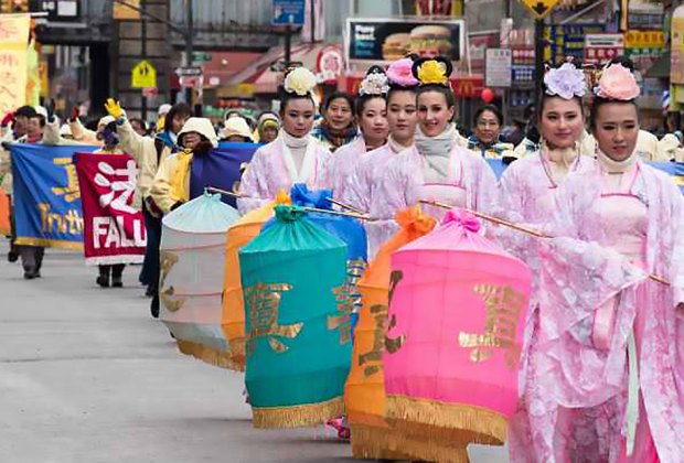 The Lunar New Year Parade in Flushing, Queens is huge draw every year. Photo by Julienne Schaer  for NYCGo