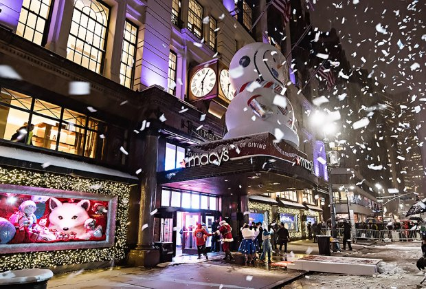 Macy's Herald Square Holiday windows are a treat for New Yorkers and tourists alike. Photo by Bill Waldorf for Macy's