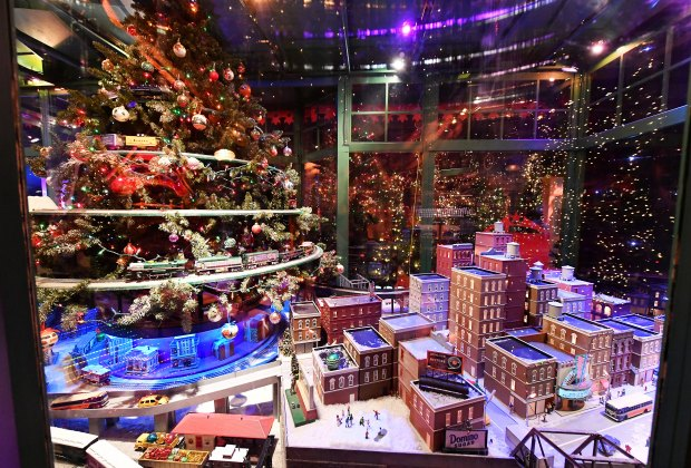 Macy's dazzles visitors with its magical Santaland. Photo by Mike Coppola for Macy's