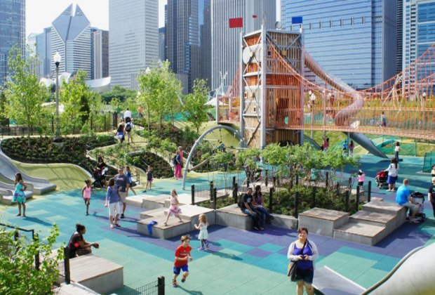 Head to Maggie Daley Park to celebrate the Chicago Park District's 85th Birthday Party. Photo courtesy of  the Chicago Park District