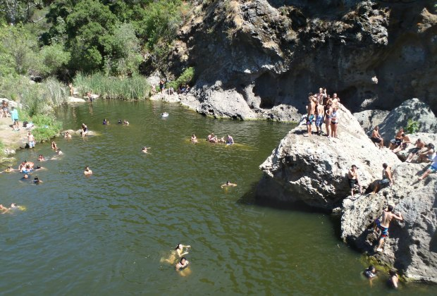 Malibu Creek Rock Pool, photo by James OBrien II/Flickr