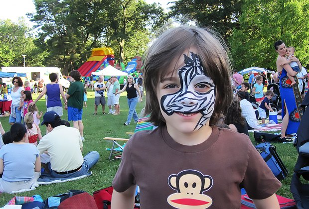 Maplewoodstock returns to Memorial Park this weekend with music, art, and plenty of fun for kids. Photo courtesy of Maplewoodstock