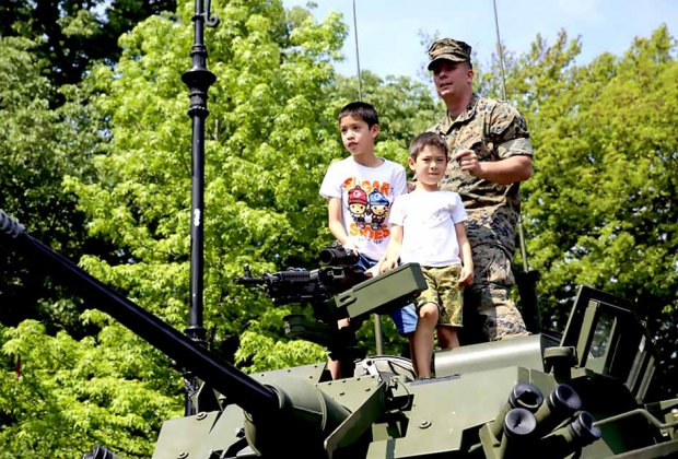 The U.S. Marine Corps will host Marine Day at Prospect Park. Photo courtesy of the Defense Visual Information Distribution Service