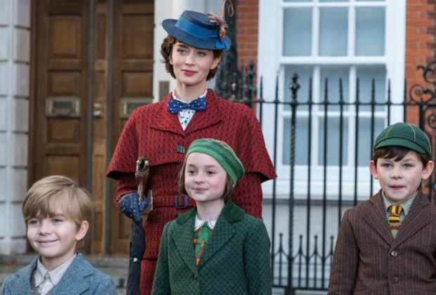 Catch a showing of Mary Poppins Returns. Photo by Jay Maidenment for Disney