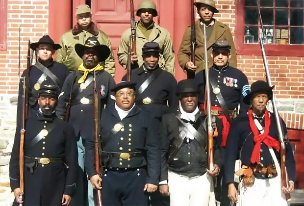 The 6th Regiment U.S. Colored Troops Reenactors, Inc. (6th USCT) captures a proud heritage. Photo courtesy of the troop