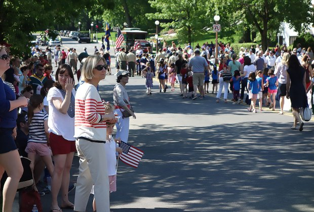 Memorial Day Parade in Bronxville. Photo by Susan Miele