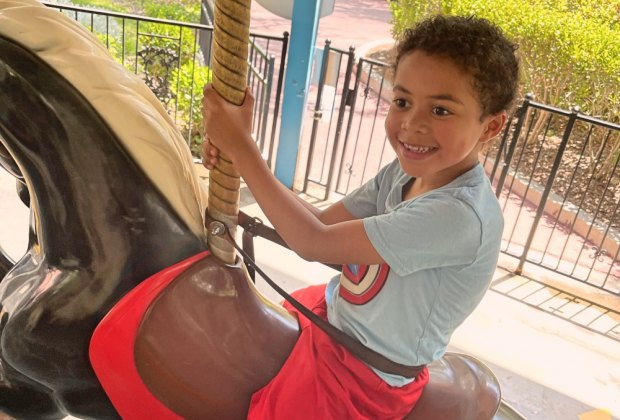 Have a Blast at Six Flags Magic Mountain with Kids of All Ages: Merry Go Round