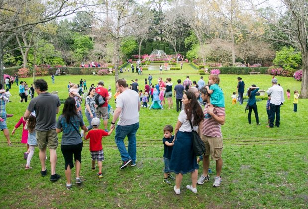 Take advantage of Bayou Bend's Family Day for a unique Sunday experience./Photo by Jacob Powers, courtesy of the MFAH.