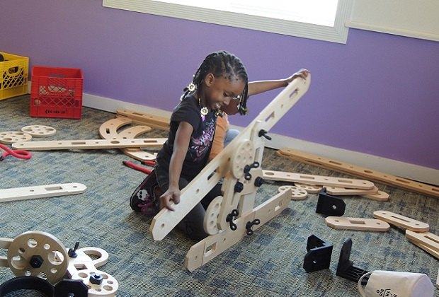 The Mid-Hudson Children's Museum hosts Family Free Night on the third Saturday of each month from 5-8pm. Photo courtesy of MHCM