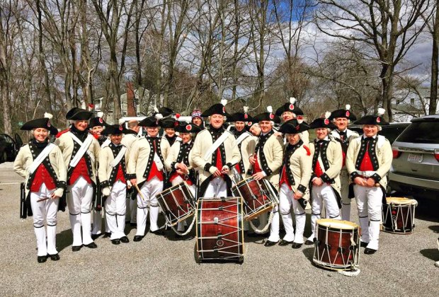 Photo courtesy of Middlesex Fife and Drum Volunteers