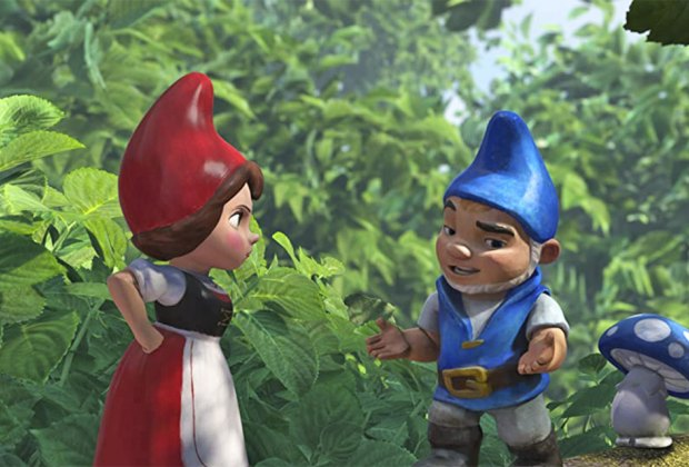 Cuddle up with a family-friendly Valentine's Day movie like Gnomeo and Juliet.