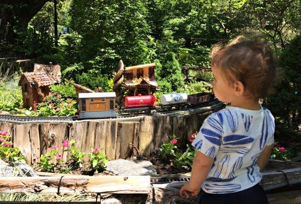 Thomas the Tank Engine & Friends Weekend at the Morris Arboretum. Photo by Marie Ingegneri