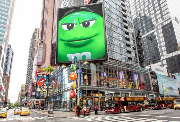 Hit Times Square for M&Ms Worls and many other kid-friendly experiences. Photo courtesy of NYCGo