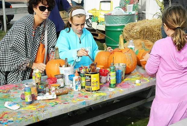 Down some fresh chowder, decorate pumpkins, and more in Montauk. Photo courtesy of the Montauk Family Fall Festival & Chowder Contest