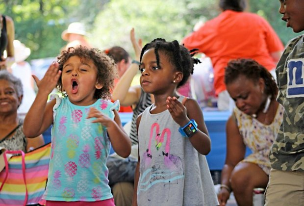 Check out the Family Jazz Discovery zone at the Montclair Jazz Festival on Saturday. Photo courtesy of the festival