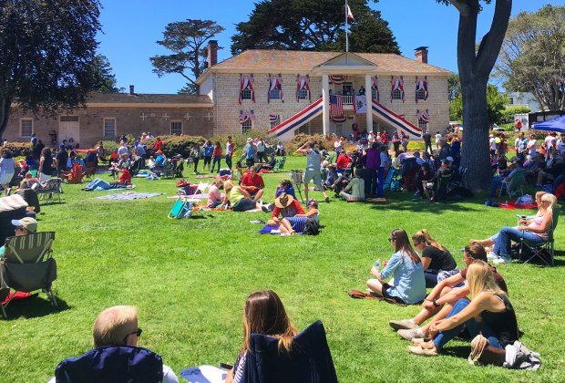 Concerts in the Park. Photo courtesy of the City of Monterey