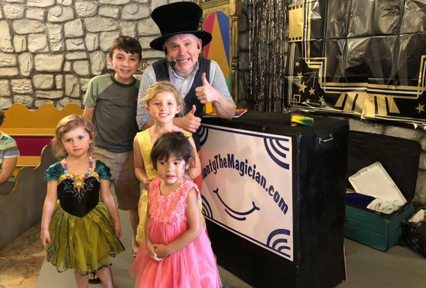 Prepare to be amazed with Monty the Magician's magic tricks./Photo courtesy of The Woodlands Children's Museum.