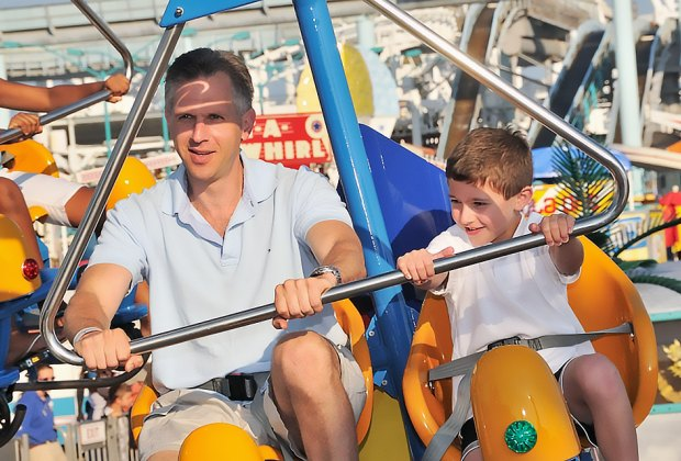 Spend the day with Dad at Morey's Piers. Photo courtesy of Morey's Piers