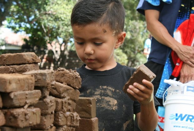 Mud Mania! Photo courtesy of Rancho Los Cerritos
