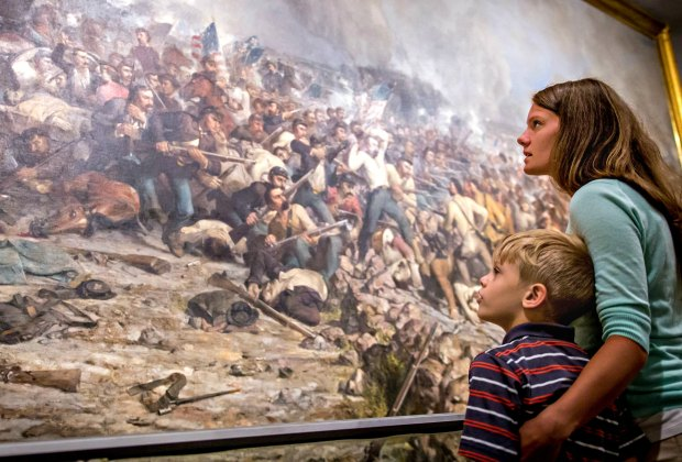 History becomes vivid at the State Museum of Pennsylvania. Photo courtesy of VisitHersheyHarrisburg.org