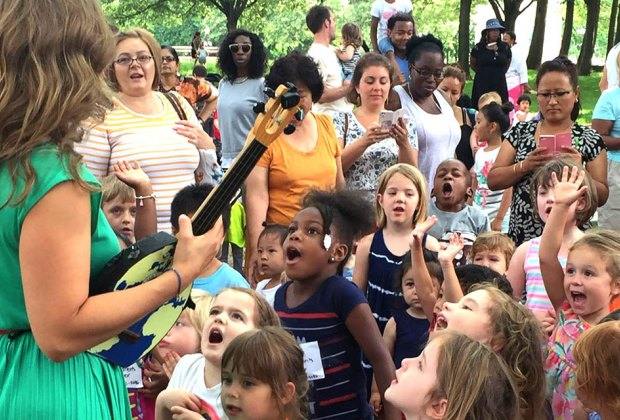Head to Fort Greene Park for Music in the Grove. Photo courtesy of the event