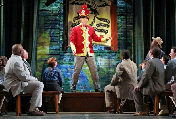 Goodspeed presents The Music Man. Photo by Diane Sobolewski